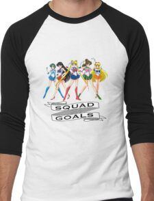 Sailor Moon // Squad Goals Men's Baseball ¾ T-Shirt
