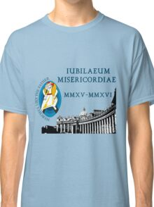 Extraordinary Jubilee of Mercy with logo, 2015 - 2016 (B) Classic T-Shirt
