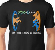 Zootopia with portals Unisex T-Shirt
