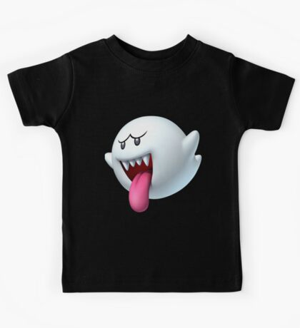 King Boo ghost villain Kids Tee