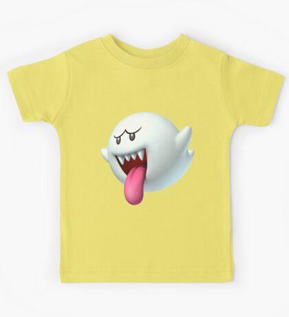 King Boo ghost villain Kids Tee