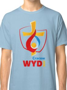 World Youth Day 2016 in Cracow logo Classic T-Shirt