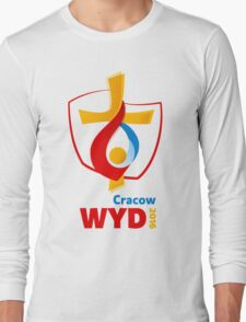 World Youth Day 2016 in Cracow logo Long Sleeve T-Shirt