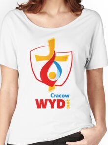 World Youth Day 2016 in Cracow logo Women's Relaxed Fit T-Shirt