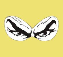 Diabolik eyes, comic hero Baby Tee