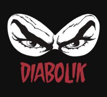 Diabolik eyes comic hero, with name One Piece - Short Sleeve