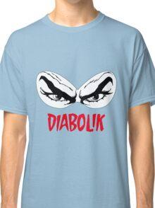 Diabolik eyes comic hero, with name Classic T-Shirt