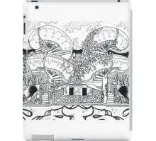 Graffiti Water Slides iPad Case/Skin