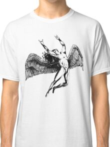 ICARUS THROWS THE HORNS - black Classic T-Shirt