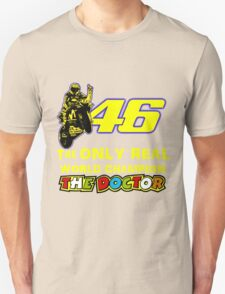 VR46, Valentino Rossi the Legend, MotoGp World Champion Unisex T-Shirt