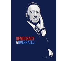 frank underwood  Photographic Print