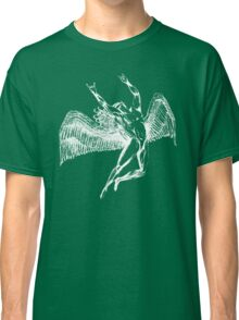 ICARUS THROWS THE HORNS - white Classic T-Shirt
