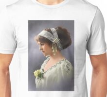 Colorized Vintage Young Beauty III Unisex T-Shirt