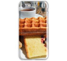 Plate with different types of sweets. iPhone Case/Skin
