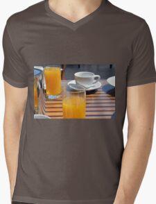 Coffee cup and orange juice breakfast drinks. T-Shirt
