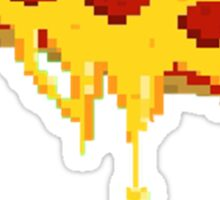 "8-bit pizza ""would you like 8-bit of pizza"" pun :D Sticker"