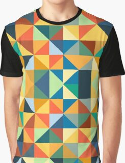 COLORFUL TRIANGLE Graphic T-Shirt