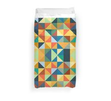 COLORFUL TRIANGLE Duvet Cover