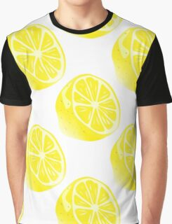 Lemon Citrus Fruit  Graphic T-Shirt