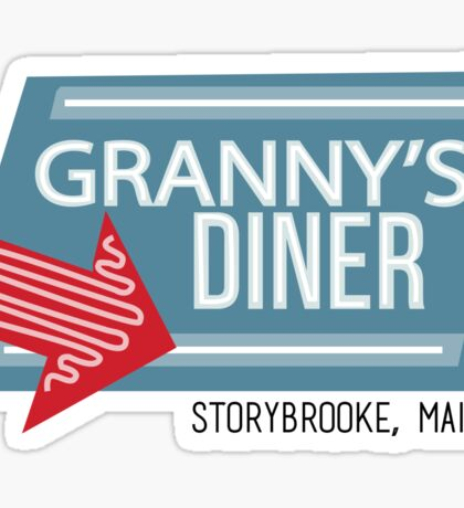 Granny's Diner - Once Upon a Time Sticker