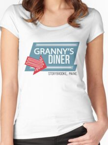 Granny's Diner - Once Upon a Time Women's Fitted Scoop T-Shirt
