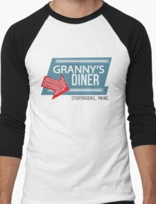Granny's Diner - Once Upon a Time Men's Baseball ¾ T-Shirt