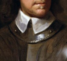 Oliver Cromwell Painting Sticker