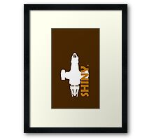 Shiny Ride Captain Framed Print