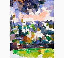 1906 - Paul Cezanne - The Garden at Les Lauves Unisex T-Shirt