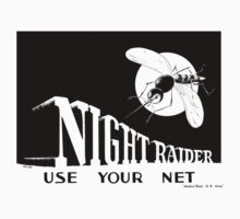 Night Raider -- Use Your Net -- WWII One Piece - Short Sleeve
