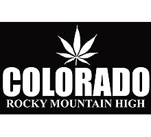 Colorado rocky mountain high Photographic Print