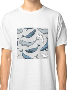 Whales are everywhere Classic T-Shirt