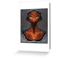 Dungeons and Dragons - Kobold Greeting Card