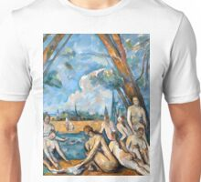 1906 - Paul Cezanne - The Large Bathers Unisex T-Shirt