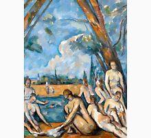 1906 - Paul Cezanne - The Large Bathers Unisex T-Shirt
