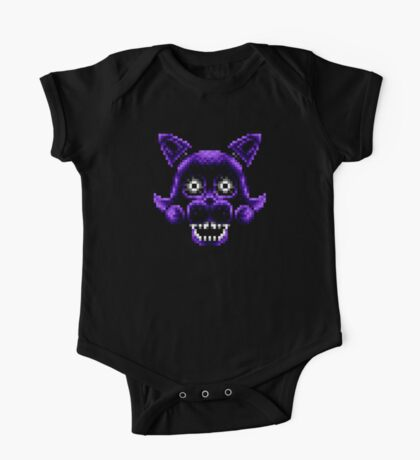 Five Nights at Candy's - Pixel art - Shadow Candy One Piece - Short Sleeve