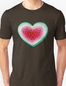 Summer Love - Watermelon Heart Unisex T-Shirt