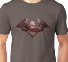 Dawn of Justice : Red  Logo Unisex T-Shirt