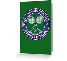 WIMBLEDOOM  Greeting Card