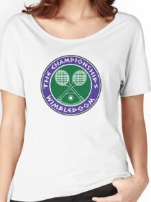 WIMBLEDOOM  Women's Relaxed Fit T-Shirt