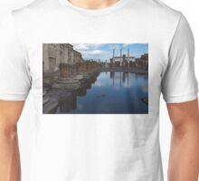 Reflecting on Ancient Pompeii - the Giant Rain Puddle View  Unisex T-Shirt