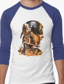 SIFURIO Men's Baseball ¾ T-Shirt