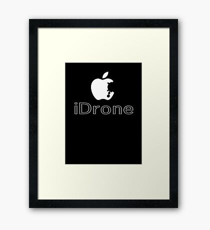 The iDrone Framed Print