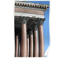 portico and columns Poster