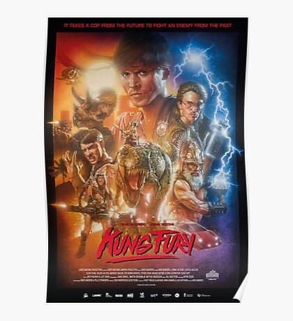 Kung Fury Poster Art Poster