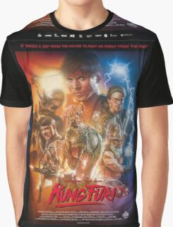 Kung Fury Poster Art Graphic T-Shirt