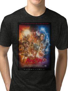 Kung Fury Poster Art Tri-blend T-Shirt