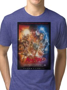 Kung Fury Poster Art Tri-blend T-Shirt