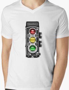 Traffic-rolley lights Mens V-Neck T-Shirt