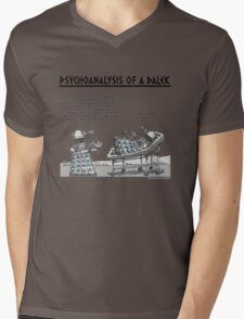 PSYCHOANALYSIS OF A DALEK Mens V-Neck T-Shirt